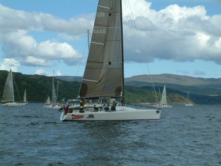 General boating at the Scottish Series
