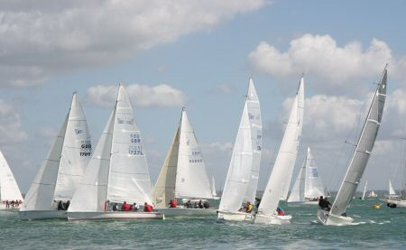 Close racing in the sportboat fleet