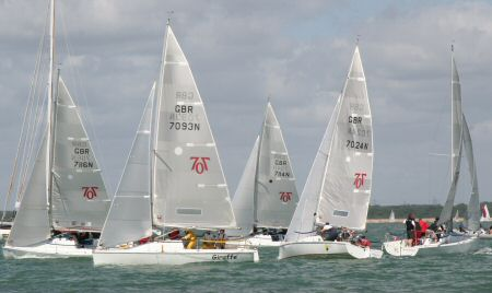 Close racing in the 707 fleet