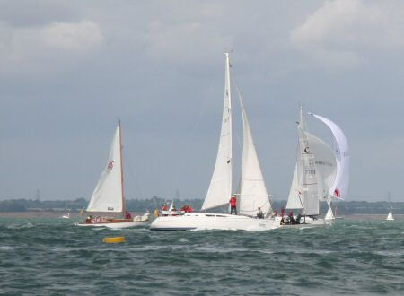 Sunsails battle it out