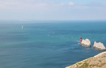A nice shot of the Needles - Maximus in the background