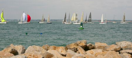 Cowes Week - the finish