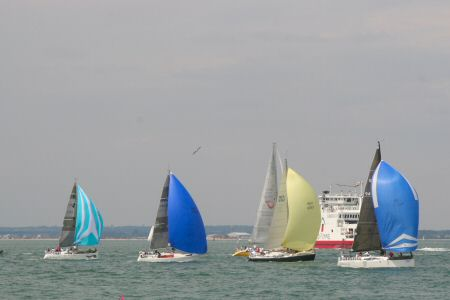 Yachts and the Red Funnel