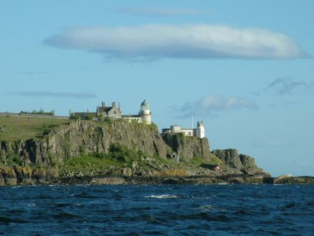 Lighthouse on Little Cumbrae