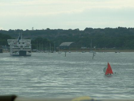 Fishbourne - home of the Royal Victoria YC