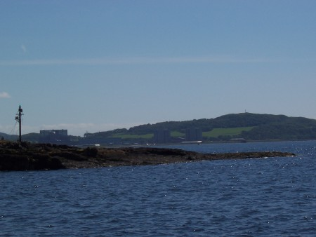 The view East from Millport