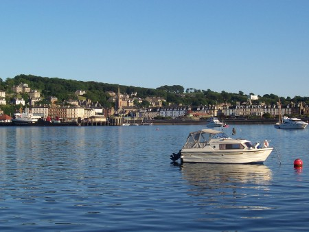 Rothesay town and harbour